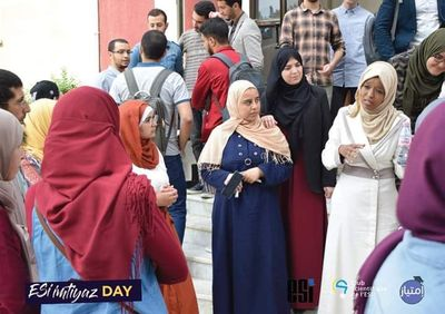 """Student Mentorship during """"Imtiyaz Day"""" for professional and academic orientation."""