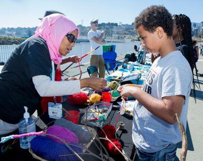 BaySplash volunteering day at San Francisco