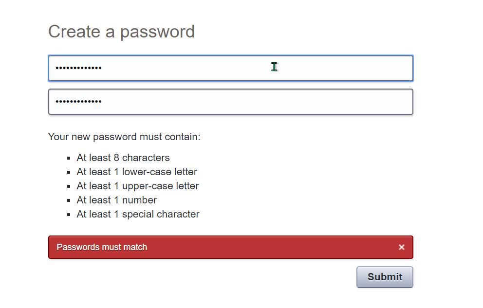 Password reveal app