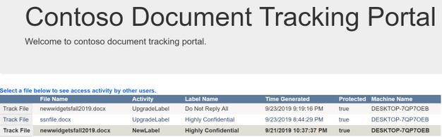 Custom AIP Tracking Portal UI