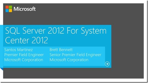 UD-B324 SQL Server 2012 for System Center Administrators Available Online