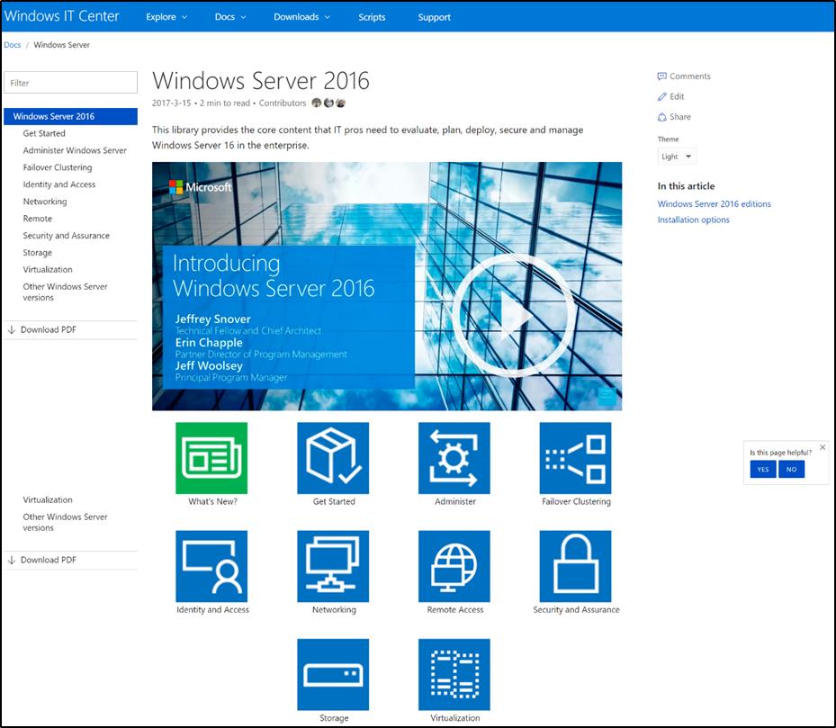 Windows Server 2016 IT pro docs are now on docs.microsoft.com.png