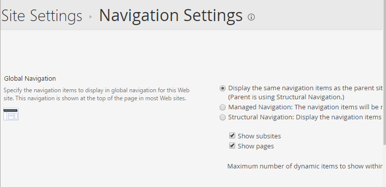 Hide Show pages Global navigation.PNG