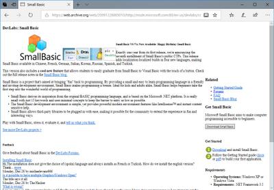 Small Basic Web v0.7