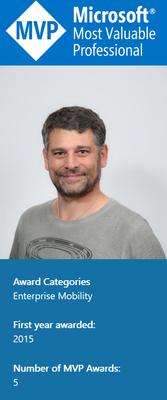 Congratulations Mirko Colemberg, our FY20 Q2 Most Valuable Mentor awardee!
