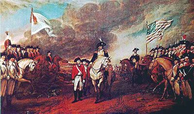 Surrender at Yorktown, John Trumbull