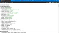 Chrome Dev v.79.0.3945.8 64 bit Graphics Feature Status