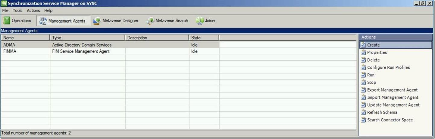 Management Agent Configuration – Part 3: SQL Management Agent