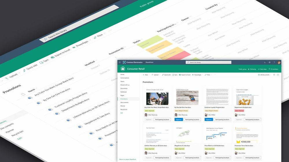 Customize your view with powerful new tools.