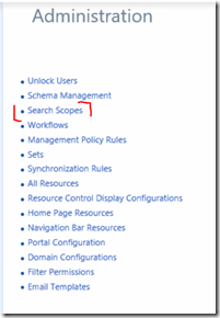 View a PAM User's Roles with Advanced Search Scope Configuration