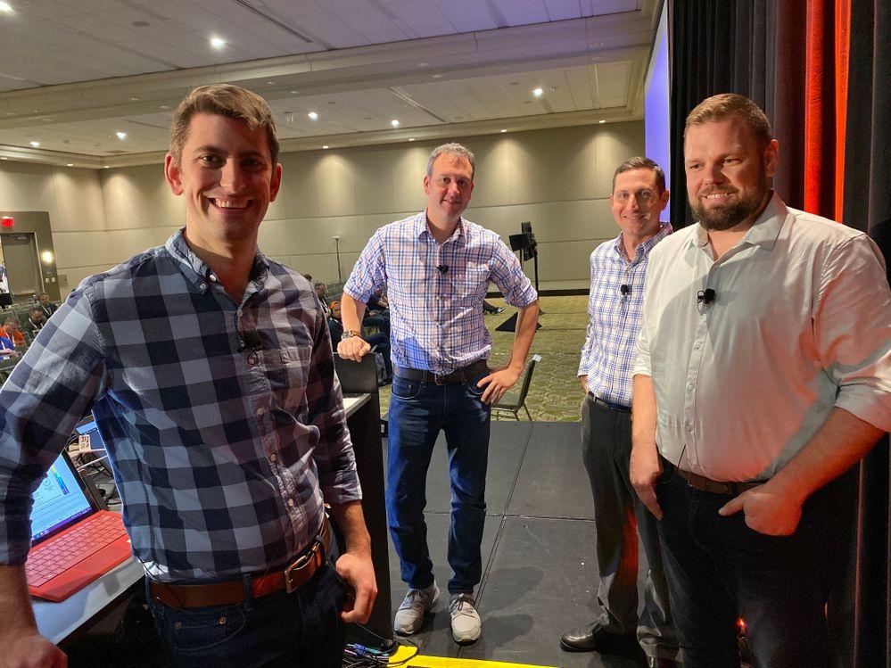 Pete, Richard, Evan and Nathan