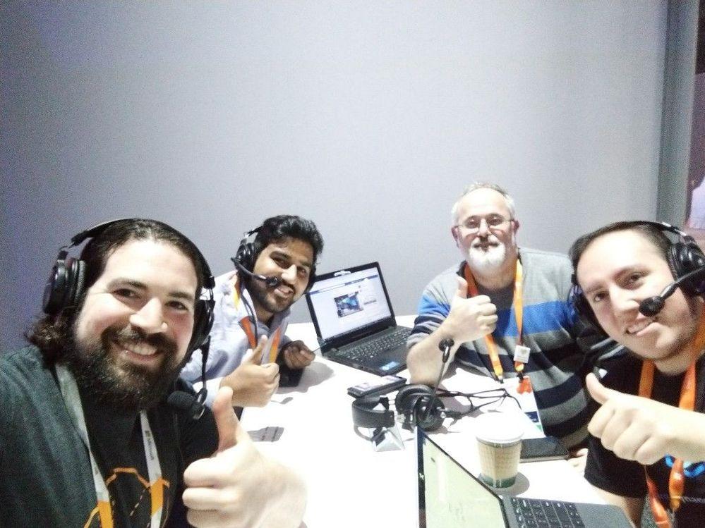 #WikiAzurePodcast at Microsoft Ignite 2019