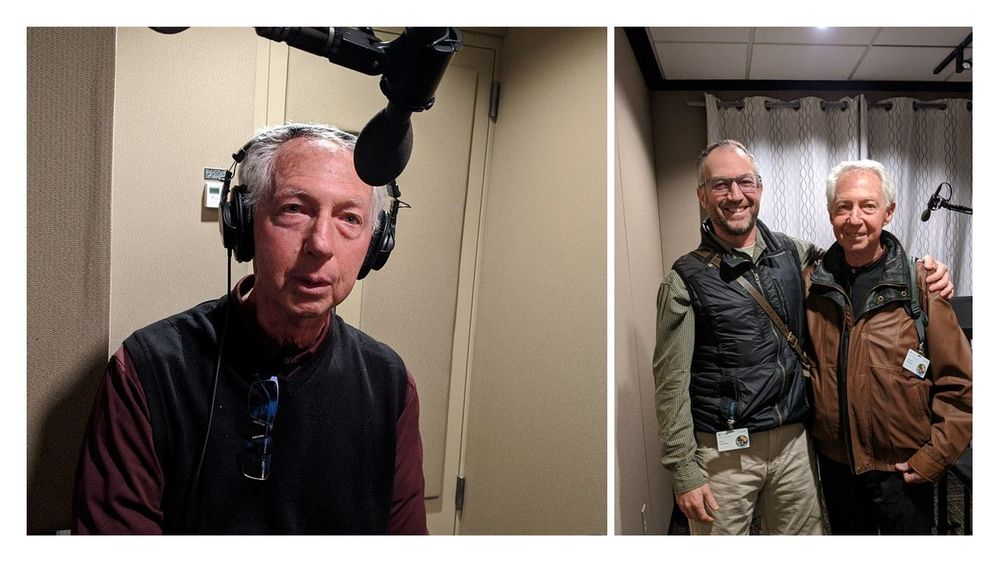 What a treat to have my dad, Howard Kashman, at Microsoft Studios while we recorded the intro for this episode. Can you guess who is the father and who is the son?