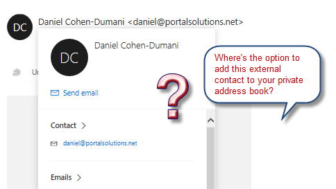 OWA - new contact pane popup.png