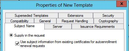 Renew Web Server (SSL) Certificates Automatically