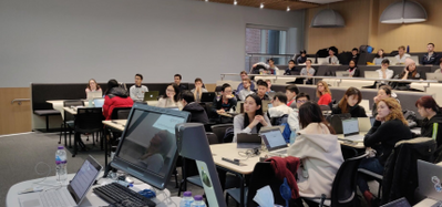 Attendees at MSc in Applied Computational Science & Engineering