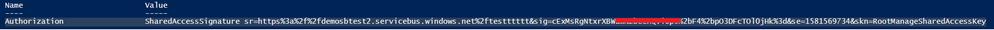 SAS Token output from PSScript