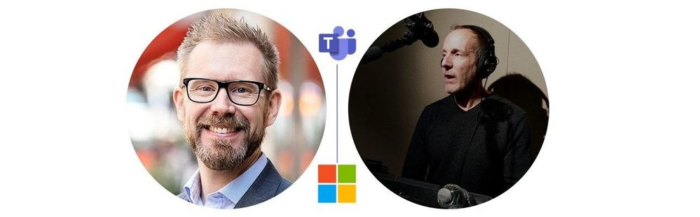 Left to right [The Intrazone guests]: Wictor Wilén (Global innovation lead & Microsoft MVP at Avanade) and Bill Bliss (Platform architect, Microsoft Teams – Microsoft).