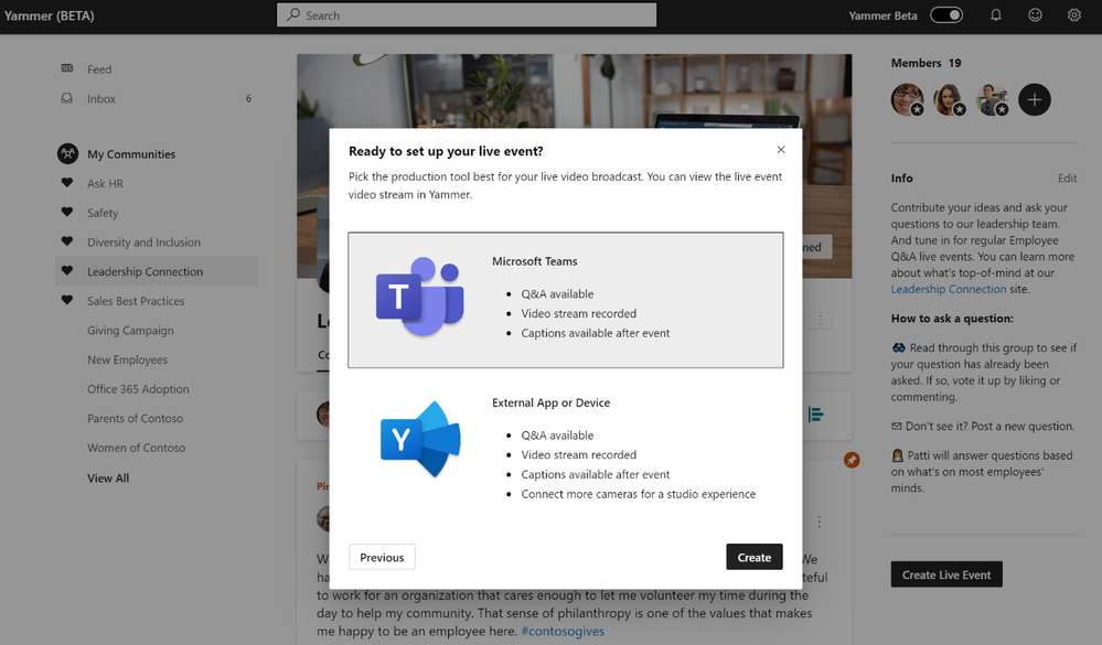 Yammer event page.png