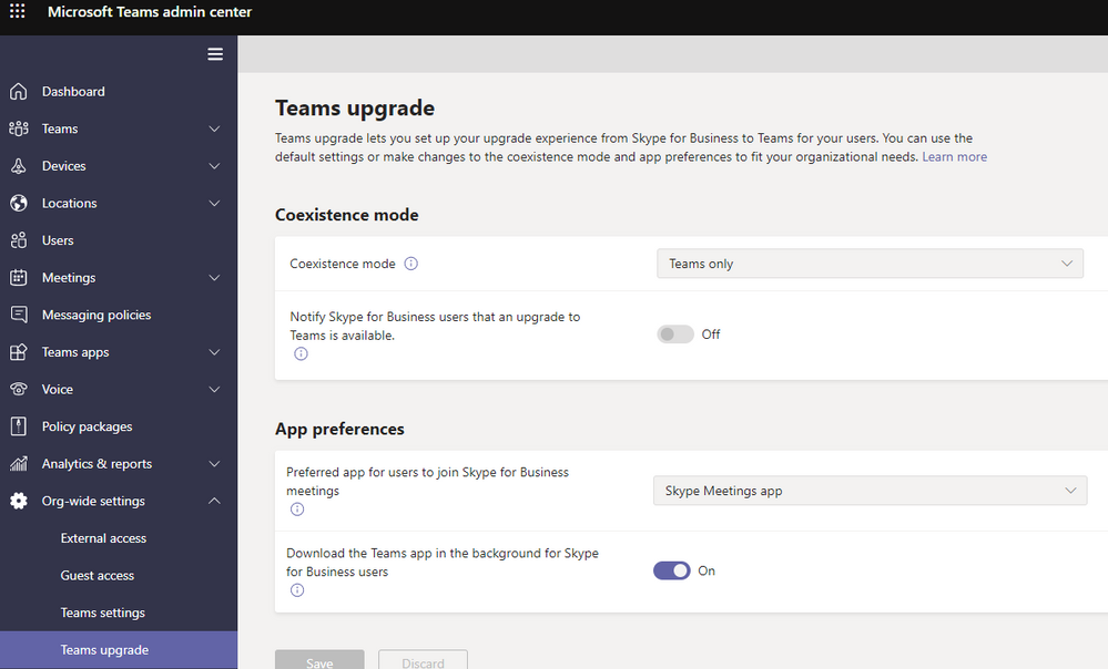2020-03-27 13_59_14-Teams upgrade - Microsoft Teams admin center.png