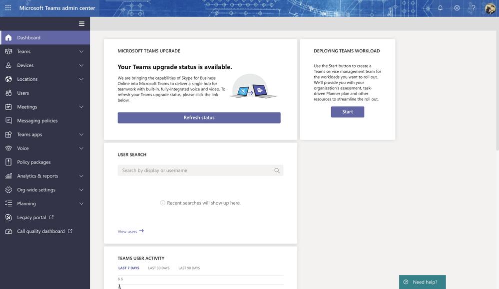 Accessing Microsoft Teams Admin Center using MacBook Pro