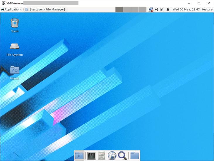 Fedora GUI Desktop