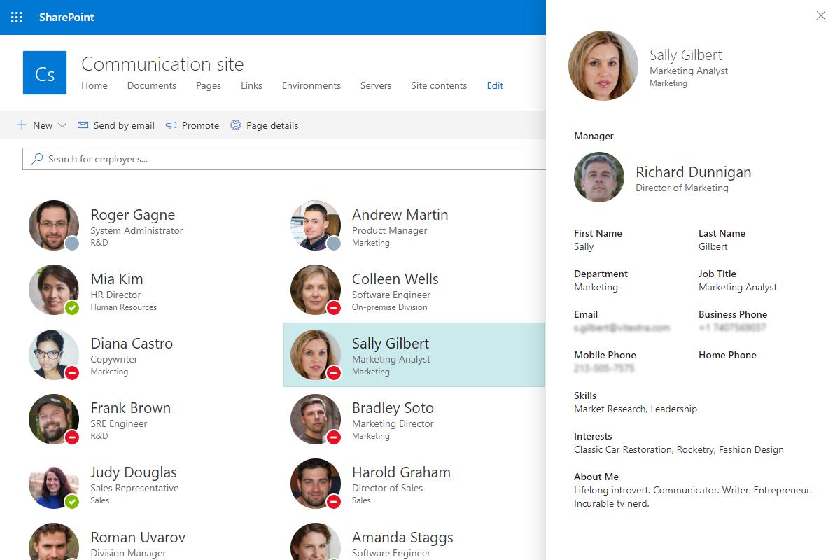 Employee Directory Microsoft Tech Community