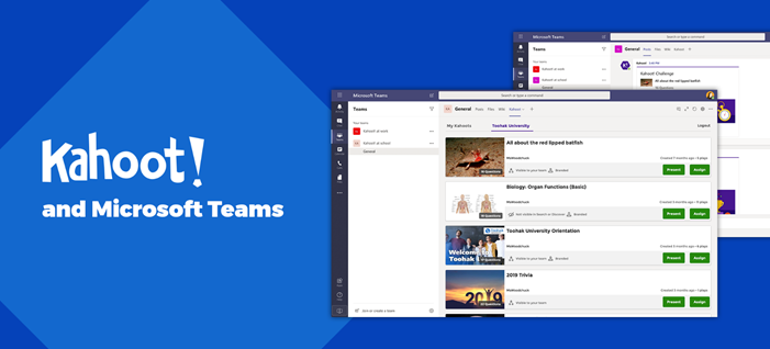 Make distance learning fun with Kahoot! and Microsoft Teams