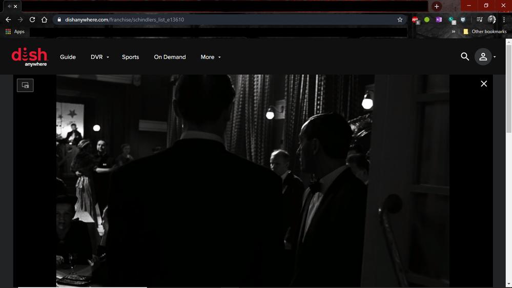 Movie working in Google Chrome