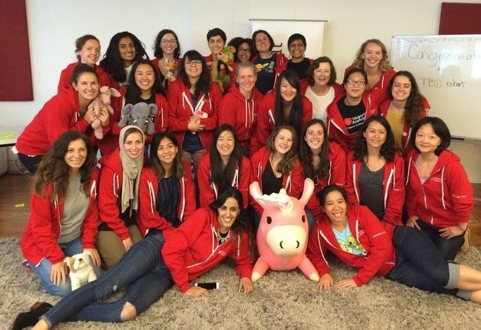 My Hackbright cohort on our graduation day!