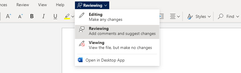 Review Mode Word.png