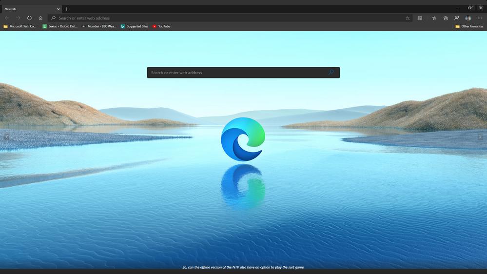 Fullscreen works fine on Edge Stable version 83.