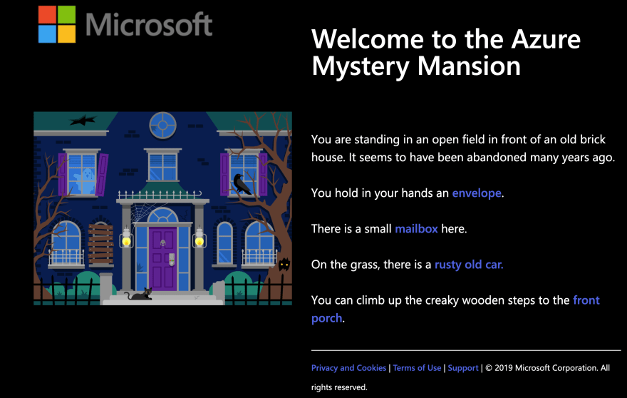 The Azure Mystery Mansion