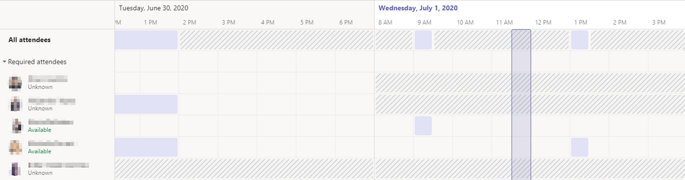 Microsoft teams meeting scheduling assistant