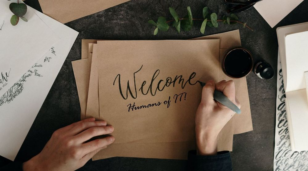 Welcome new Humans of IT Community members!