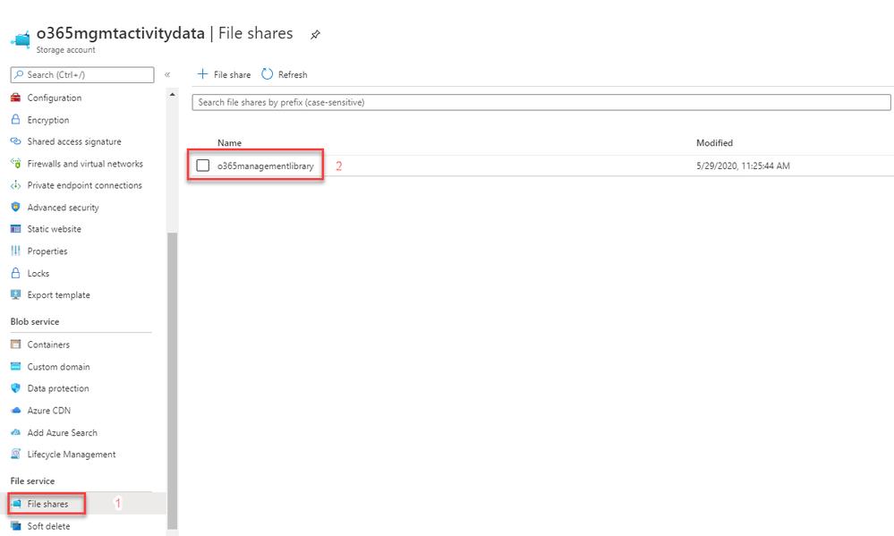Figure 18: File Shares