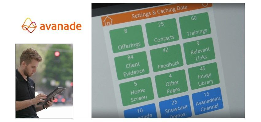 With corporate data available on their mobile devices, Avanade sellers are now more productive and better able to serve and attract clients.