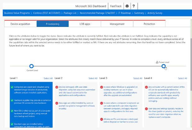 The new IT Roadmap Planning Tool will help you plan and prioritize for Microsoft 365 features with FastTrack