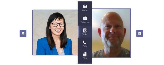 Intrazone guests – left-to-right, Shin-Yi Lim (senior product marketing manager) and Howard Crow (partner group product manager) – both focused on Planner & Tasks in Teams.