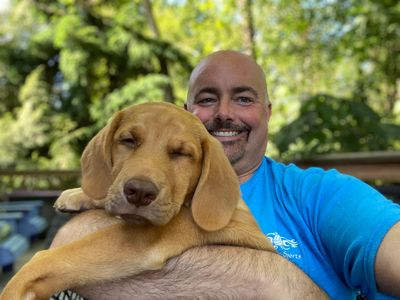 John Sanders, principal program manager, and pup - Cooper (SharePoint/Microsoft/Pup's Pops) [Intrazone guest]