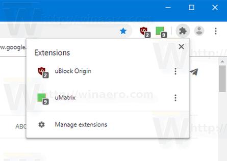 Chrome-Extension-menu