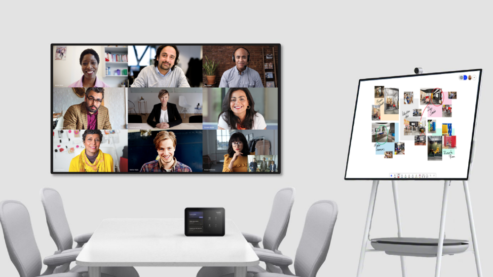 Coordinated meetings with Surface Hub and Microsoft Teams Rooms