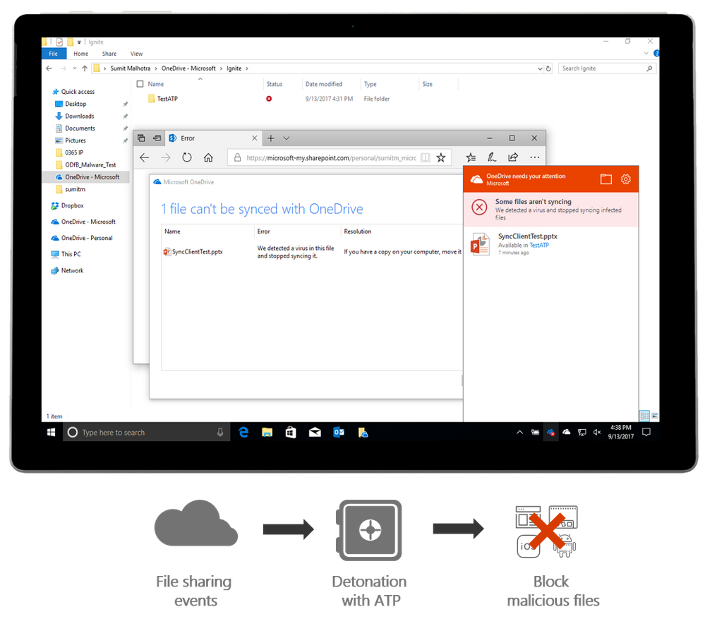 ATP Protecting SharePoint Online