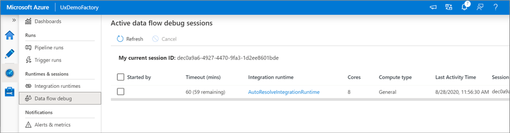 view-dataflow-debug-sessions.png
