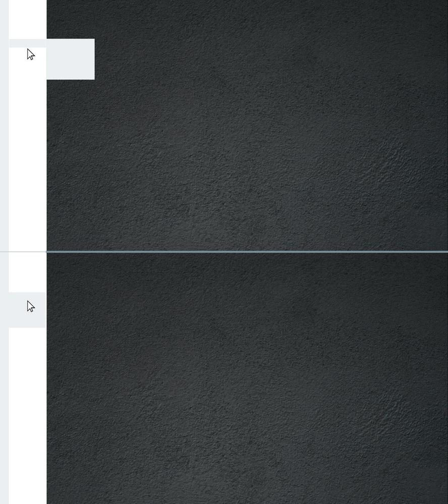 Vertical tabs : Image 1 is the current implementation'; image 2 is how I suggest it should be.