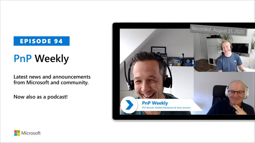 Microsoft 365 & SharePoint PnP Weekly – Episode 94