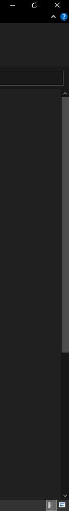 When the File Explorer is in Dark theme, a Dark theme scrollbar is seen.