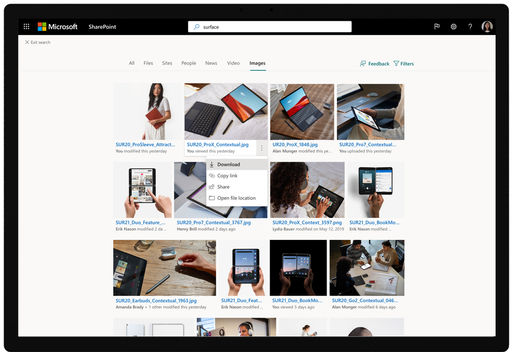 Image search in SharePoint