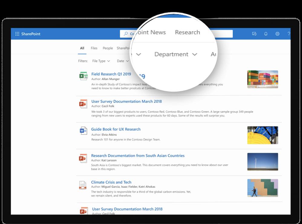 Custom vertical in SharePoint