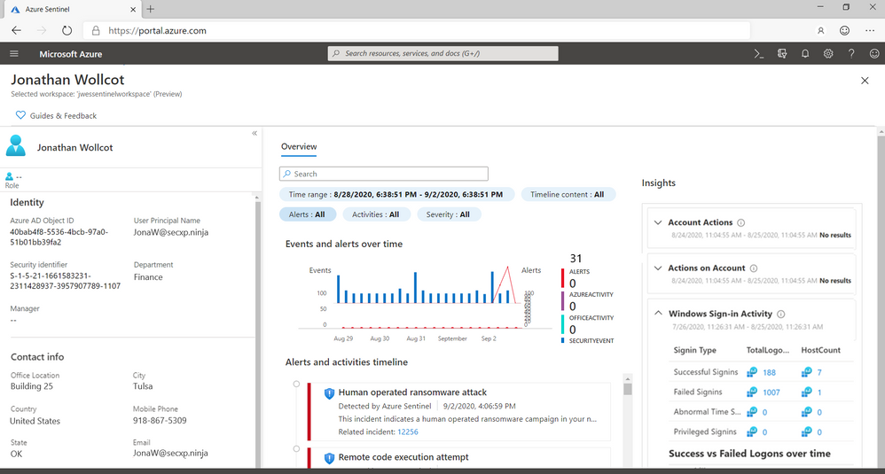 Stay ahead of threats with new innovations from Azure Sentinel